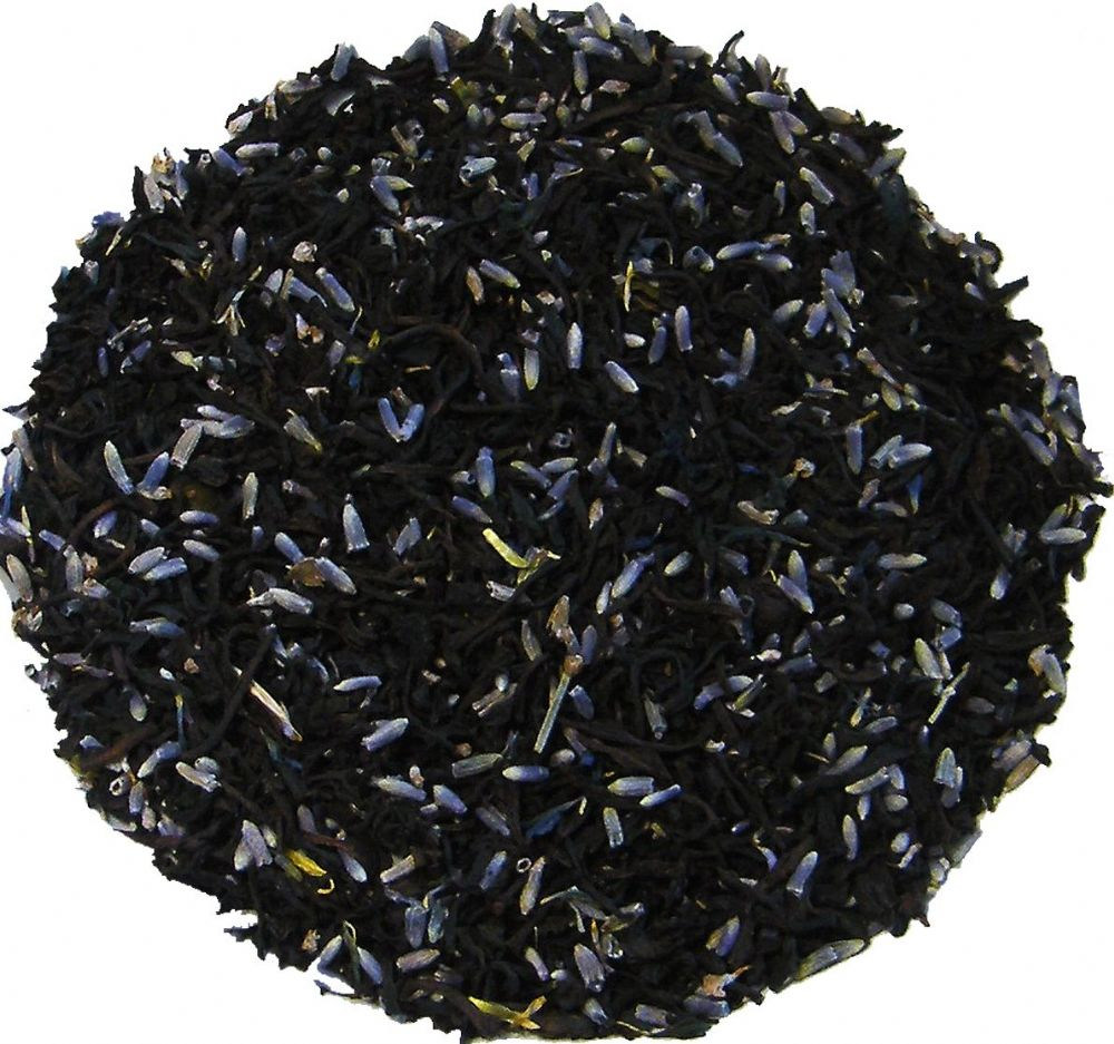 Lavender Earl Grey Decaffeinated Aromatic Black Loose Leaf Tea in Assorted Packs